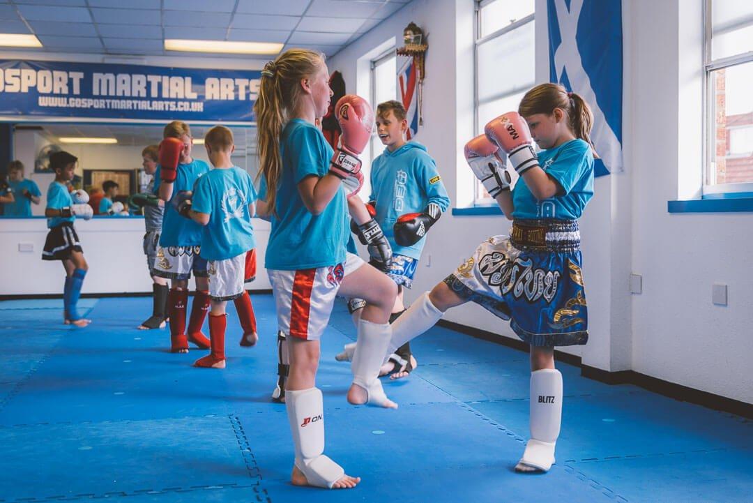 Kids martial arts and fitness classes at Gosport Martial Arts