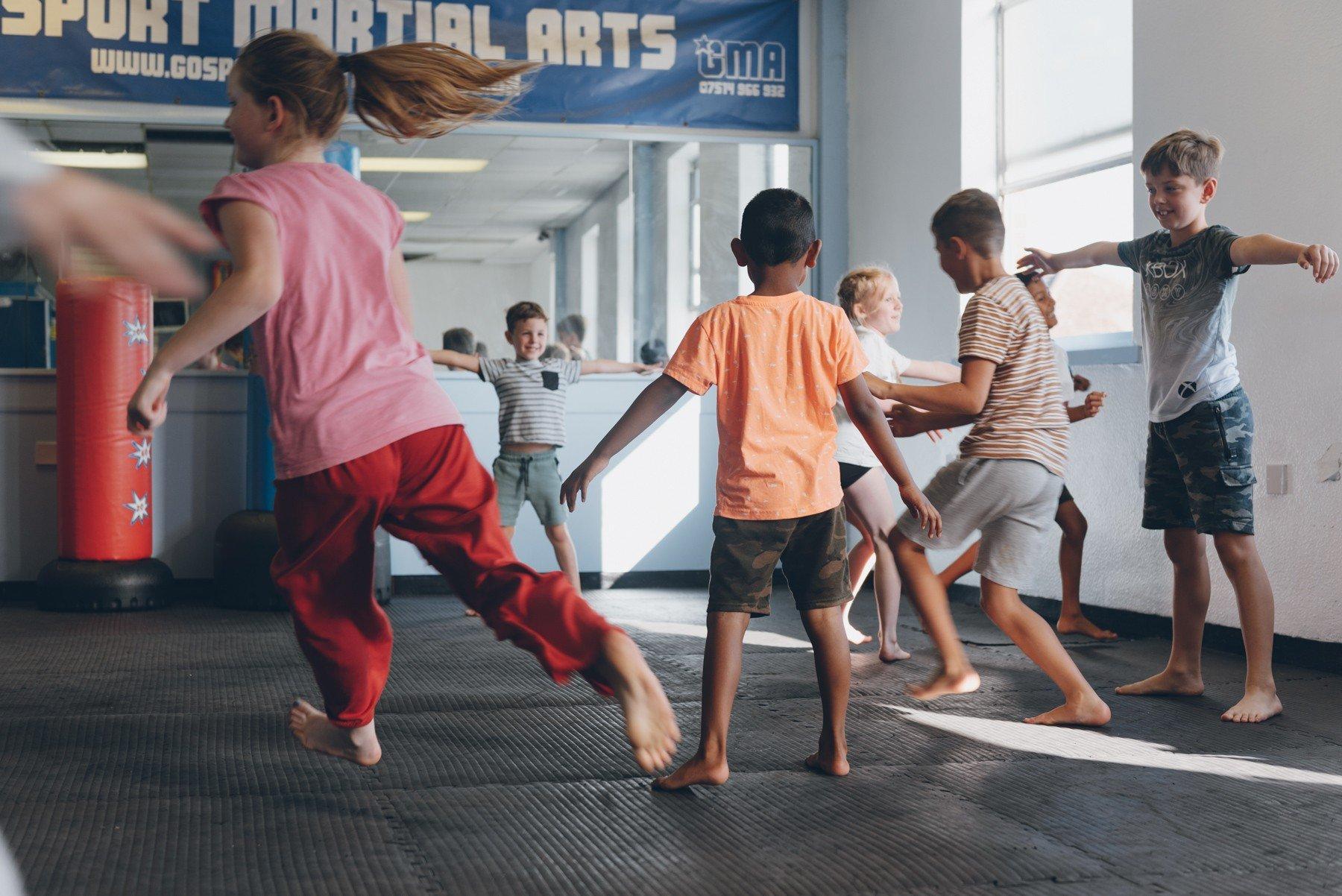 gosport martial arts kids fitness classes