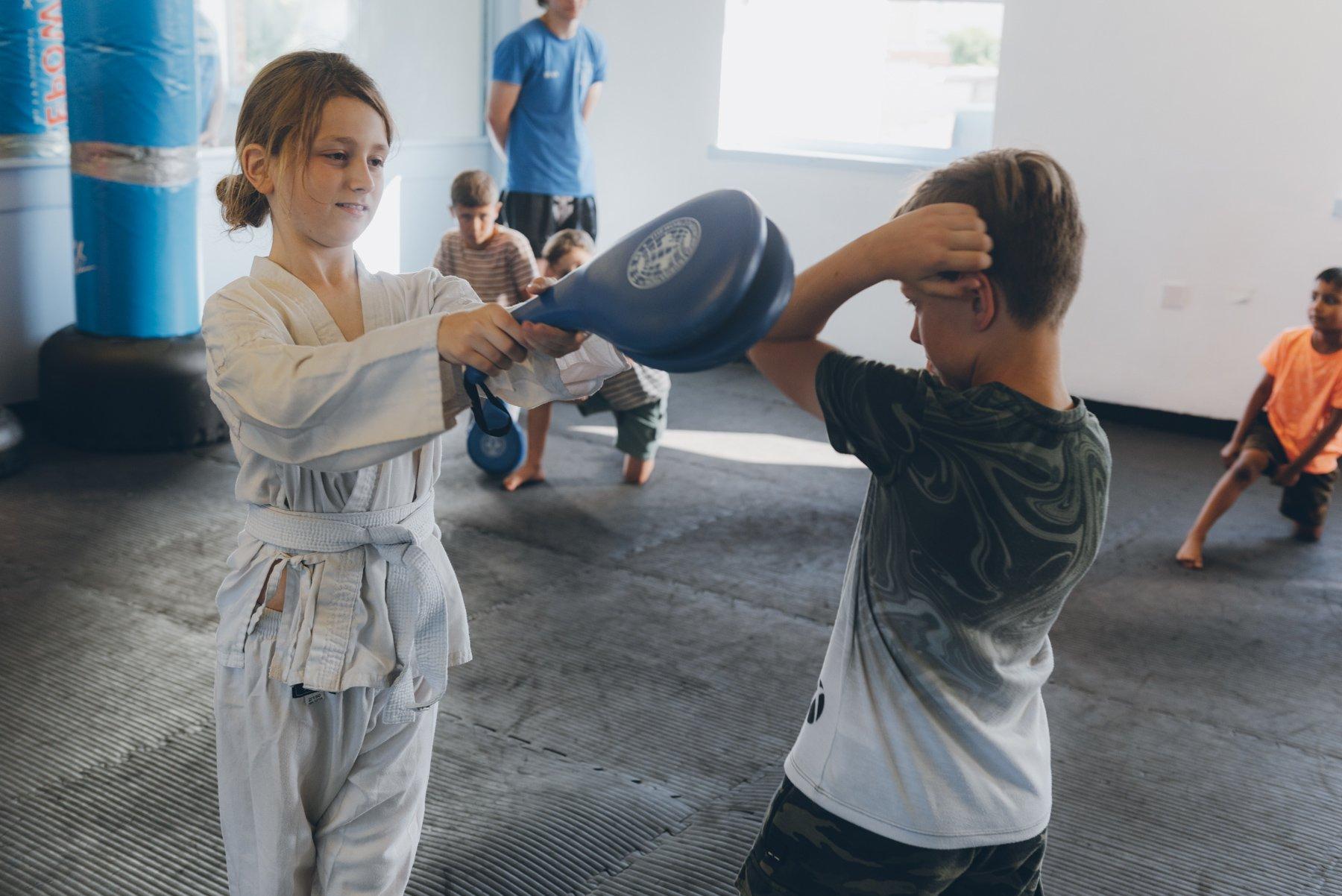 gosport martial arts kids fitness drills